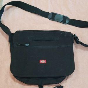 Dickies black messenger bag
